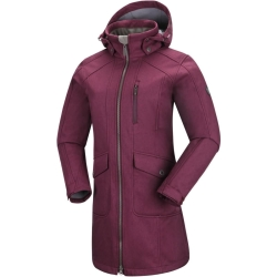 PINEA Damen Softshell Mantel MIMMI Farbe MAGENTA Größe 36