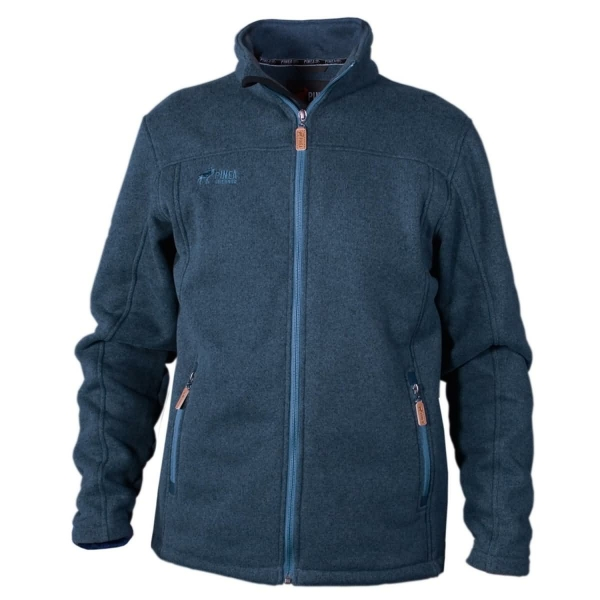 PINEA Herren Fleece Jacke SAKU Farbe MAYOLICA BLUE