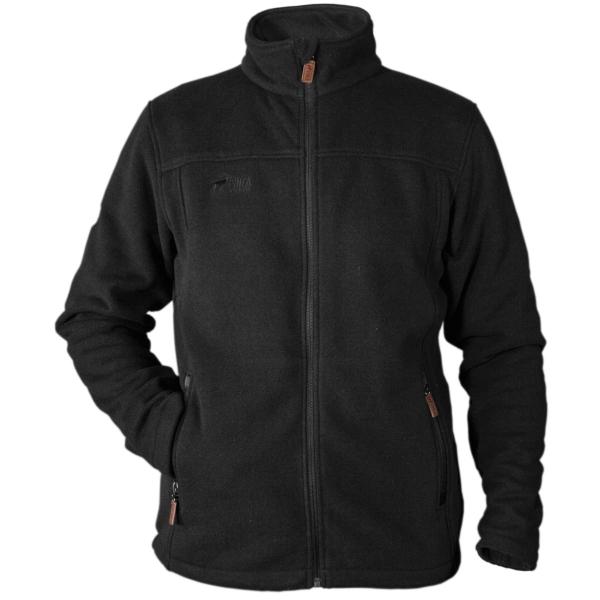PINEA Herren Fleece Jacke SAKU Farbe BLACK