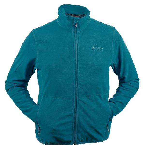PINEA Herren dünne Fleece Jacke JARI Farbe CARIBEAN BLUE Größe M