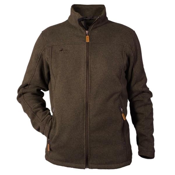 PINEA Herren Fleece Jacke SAKU Farbe MOCCA Größe S