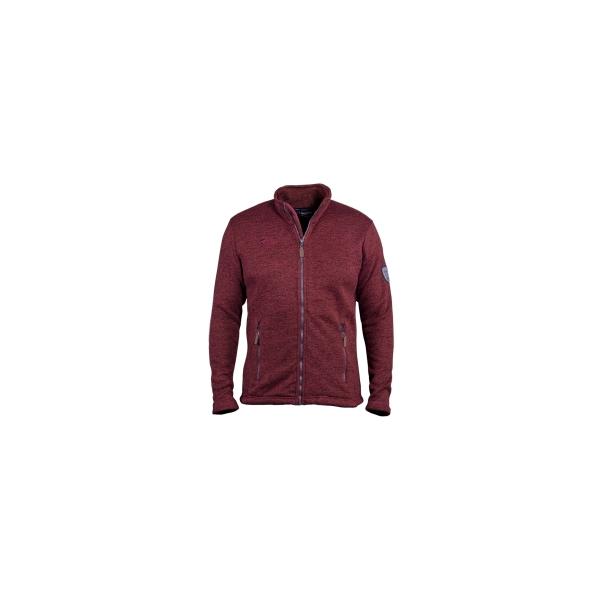PINEA Herren Fleece Jacke SAKU Farbe RED