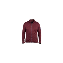 PINEA Herren Fleece Jacke SAKU Farbe RED