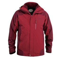 PINEA Herren Doppeljacke UUNO Farbe RED - BURGUNDY Größe S